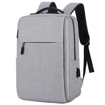 Vogue of new fund of men and women backpack han edition contracted joker charging students bag backpack travel business #9946