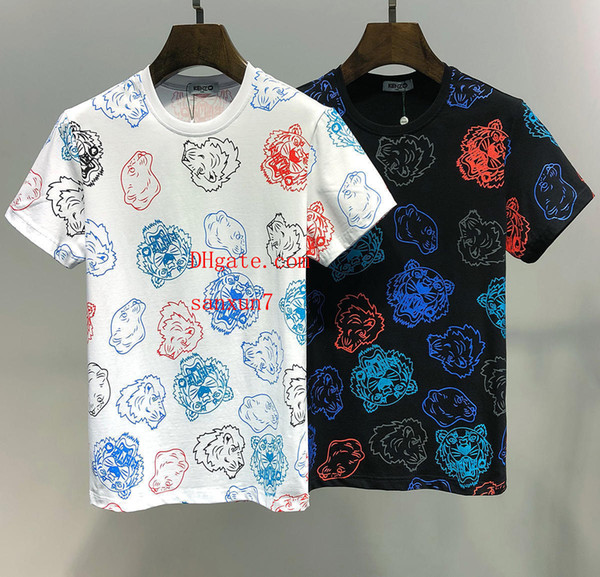 New Summer Men t-shirts cotton Tees Plus Size fashion Short Sleeve Men Women Brand Casual Tee Top Men Homme Italy brand off-A14
