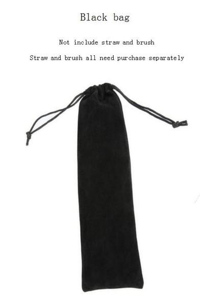 كيس من القش الأسود