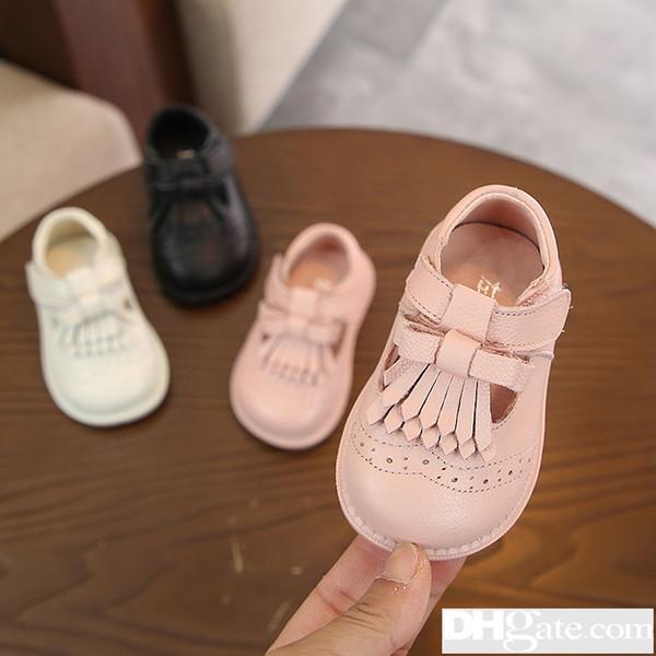 2019 frühjahr Neue Muster kinderjahr Männliche Mädchen Schuhe Mode Korean Edition Brief Kinder Single And-24