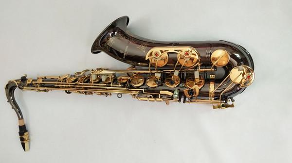 Hohe Qualität Schwarz Nickel Gold Neue YANAGISAWA T-902 musikinstrument Saxophon Tenor Unterstützung Professionelle Tenorsaxophon Sax mit Fall