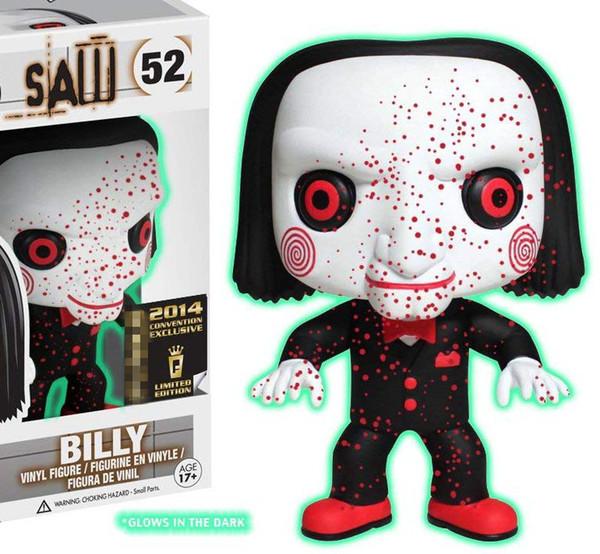 Funko POP Stephen King ha visto Billy Glows 52 # Crow 133 # Anime Figura Action Figure Giocattoli Hot Doll Nuovo Arrvial Spedizione gratuita