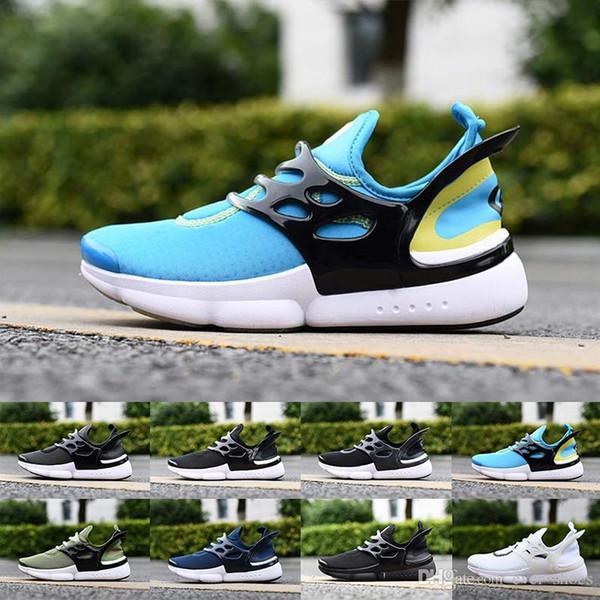 2019 New Presto 6 Mens Womens Airon Preston React Scarpe da corsa Ultra BR QS Presto Nero Bianco Summer Designer Scarpe da ginnastica Sneakers
