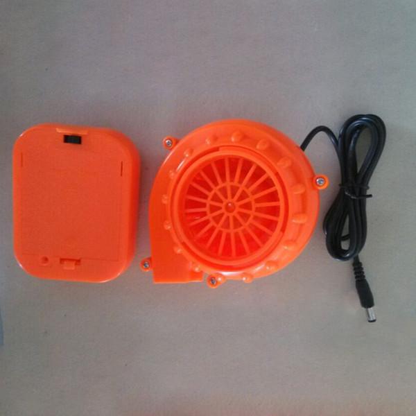 Mini Air Fan Gebläse für aufblasbare Maskottchen Cooler Kostüm Kleidung W / Battery Pack