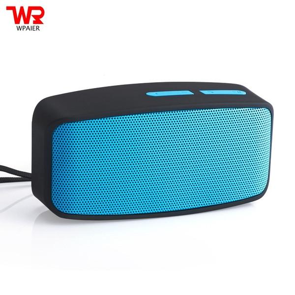 WPAIER N10 Wireless Bluetooth speaker Outdoor portable mini audio Multi-function speaker support TF card/ FM radio/USB play