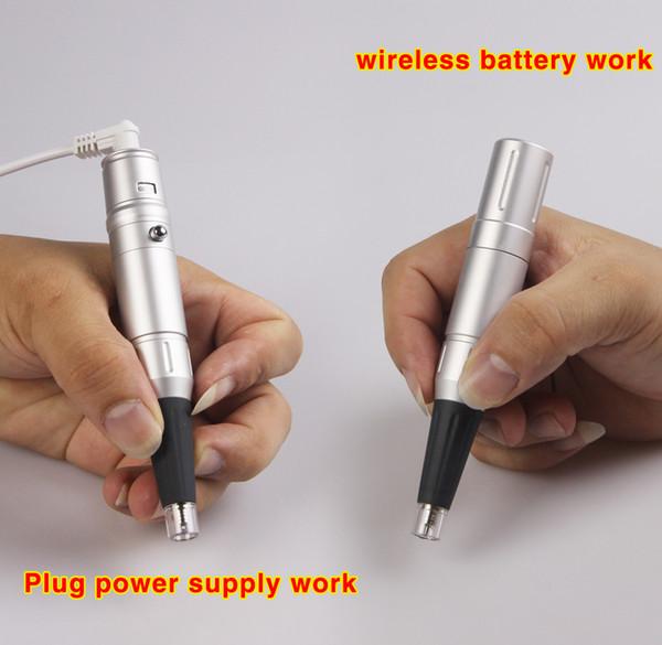 Rotary Tattoo Maschine tragbare Batterie wiederaufladbare Permanent Make-up Maschine Stift für Augenbrauen Lippen Eyeliner