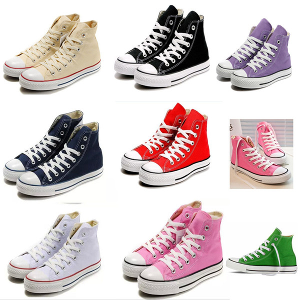 TOP quality! New star big Size 35-46 femininas canvas shoes women and men,high/Low Style Classic Canvas Shoes Sneakers Canvas Shoe