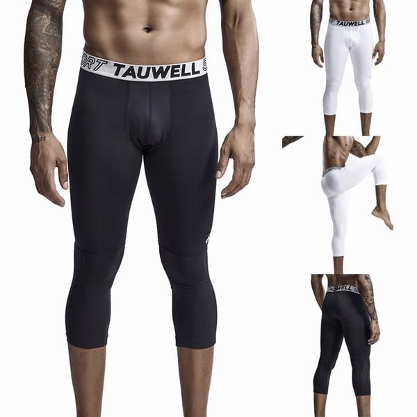 Nouveau Sweatpants Hommes Pantalons streetwear Fitness Hommes Fitness New Style exercice séchage rapide de neuf minutes Fashion Pant Pantalon de yoga