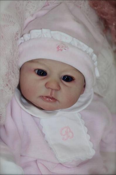 Acquista Morbido Vinile Reborn Doll Accessori Silicone Bambole