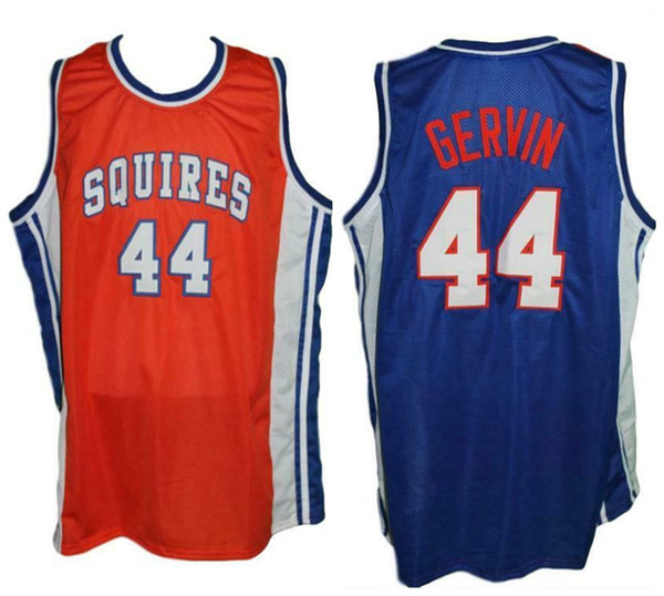 superior quality f6d8e add39 2019 George Gervin #44 Virginia Squires Retro Basketball Jersey Mens  Stitched Custom Any Number Name Jerseys From Yufan5, $23.35 | DHgate.Com