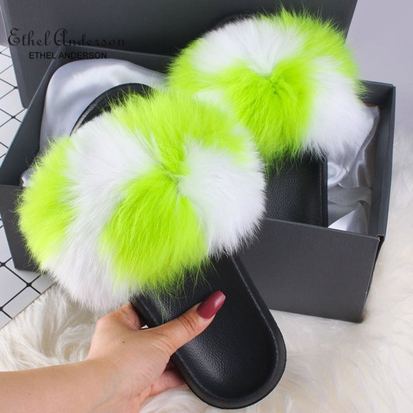 Elma yeşil beyaz