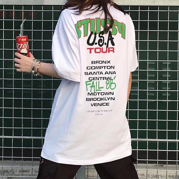 Designer T Shrits für Männer 2019 Sommer Marke T Shirts Männer Fahsion Buchstaben Gedruckt Rundhals Tops Luxus Hochwertige Kleidung Männer Tees