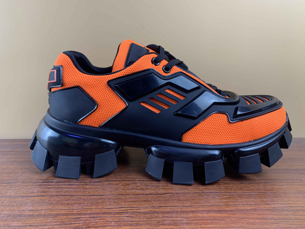 top popular New Fashion Designer Shoes Cloudbust Thunder Low Top Outdoor Mesh Men Women rubber Sole Shoes Casual Shoes Size 35-46 2020