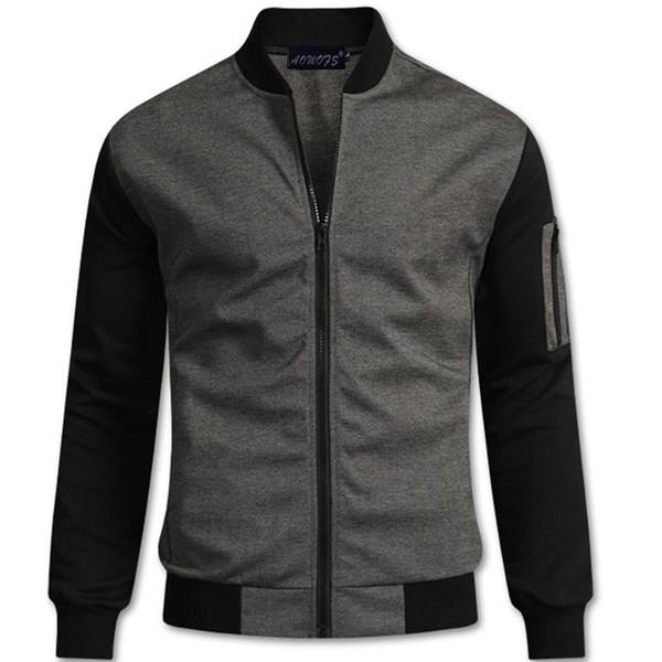 2019 Frühjahr neue britische Temperament Jacke Männer Kragenjacke Boutique Roman Strickjacke Männer Jacke 2 freies Verschiffen der Farbe Großhandel stehen