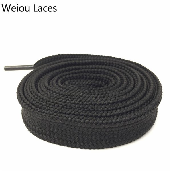 Weiou Heavy Duty Boot Laces Sneaker Colorful Athletic Designer Flat Wide Shoes Strings 1.8cm/0.7'' Fat Shoelaces For Lady Woman