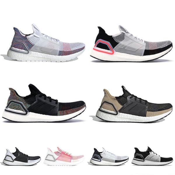 2019 Ultra Boost 5.0 Tasarımcı Erkek Kadın Sneakers Bulut Beyaz Aktif Kırmızı Gerçek Pembe Marka Yeni Ultraboost Spor Koşu Ayakkabıları 36-45
