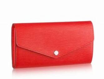 red EPIes leather