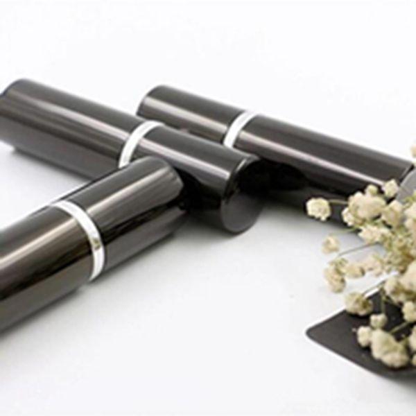Refill garrafa preta cor 5ml 10ml mini portáteis recarregáveis Perfume Atomizer Frascos do pulverizador Garrafas vazias frascos de cosméticos Recipientes EEA840-