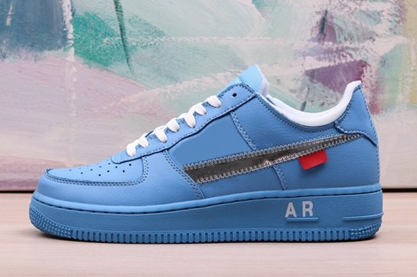 nike air force 1 bleu femme