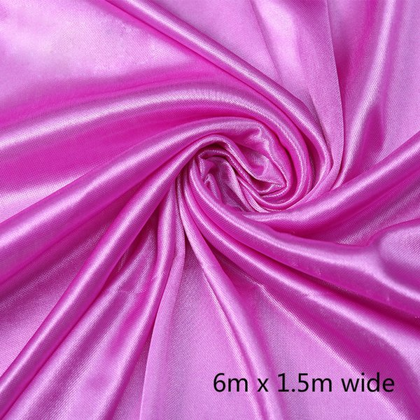 1.5*6m rose red curtain