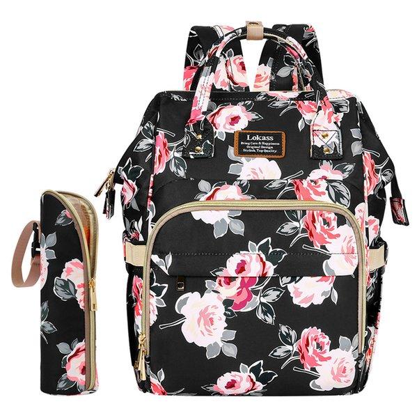 Mode Mama Umstandswickeltasche Marke große Kapazitäts-Baby-Tasche Reisen Rucksack Designer Pflege für Baby Care