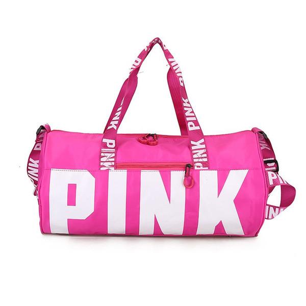 e6f3aa49cd18 Fashion Ladies Travel Bag Portable Large capacity waterproof Pink Sequins  Shoulder Bag Women Handbag Duffle Bag