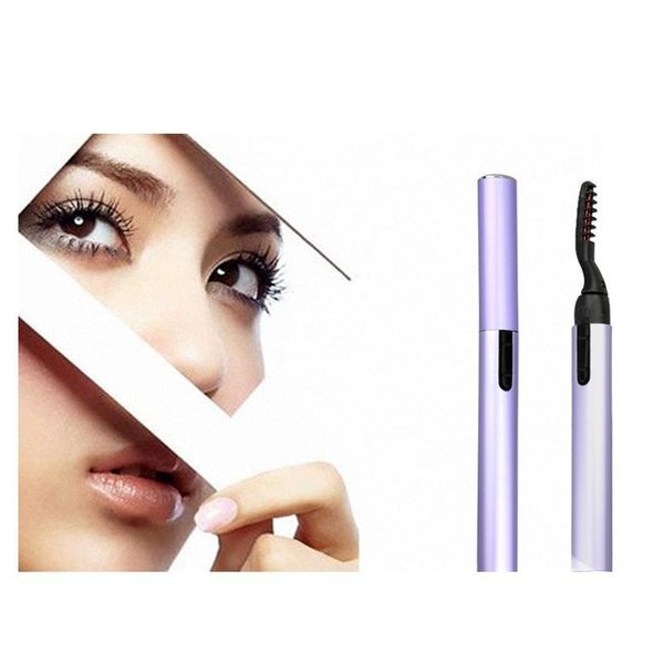 Portable Pen Style Electric Heated Makeup Eye Lashes Long Lasting Eyelash Curler Roll Eye Lashes Curlers Make Up Props Free Shipping