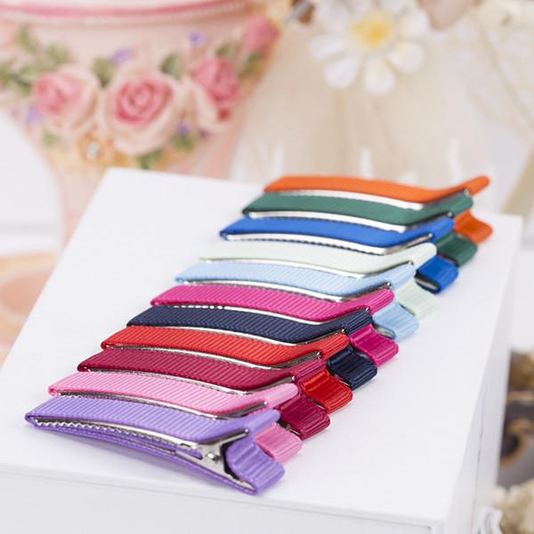 10pcs/lot Kids Hair Clips Accessories DIY Teeth Hair ClipHairpins Headwear for Girls Pins Barrette Single Prong Alligator Claws