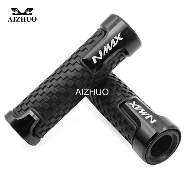 Motorcycle Accessories 22mm 7/8'' Brand New Anti-Skid Handle Grips Handlebar For YAMAHA NMAX 155 2015 2016 2017 2018
