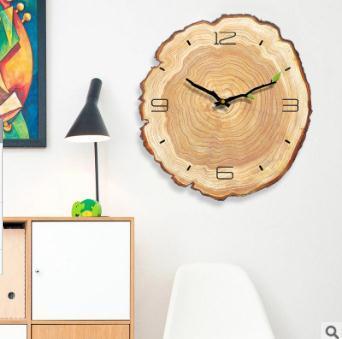 Großhandel Kreative Wanduhr Wohnzimmer Einfache Moderne Stille Jährliche Ring Dekorative Wanduhren Schlafzimmer Kunst Design Uhr Von Margueriter