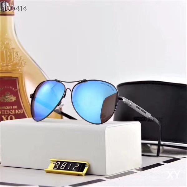 Brand design Occhiali da sole donna uomo retrò Brand designer Buona qualità Moda metallo Occhiali da sole oversize vintage femmina maschile UV400