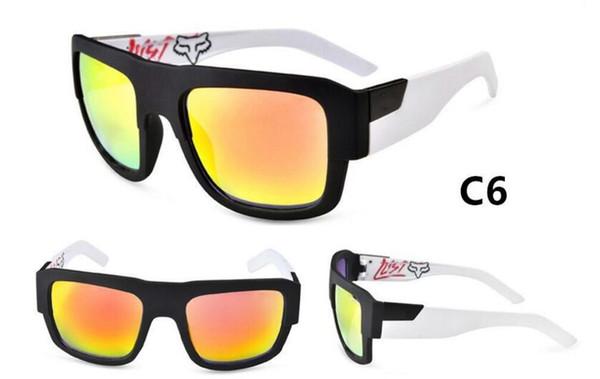 Mode Sonnenbrillen herren outdoor Strand Sonnenbrille die Ferris Silber Multicolor Beschichtung Objektiv Männer Oculos De Sol Sonnenbrille 7944 mit box