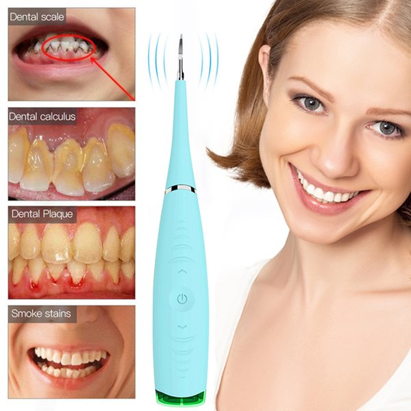 Electric Oral Care Home Use Tooth Stain Remover Tartar Teeth Stains Scaling  Tools USB Charging Ultrasonic Dental Cleansing Machine Dentist School