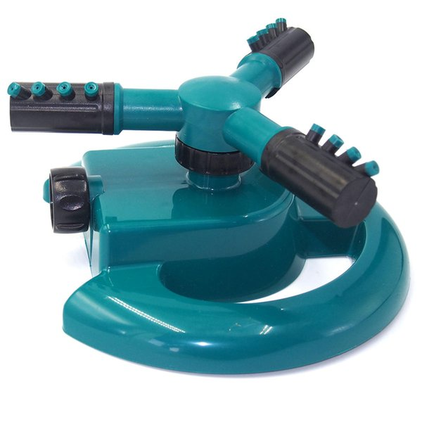 top popular Garden Three Arms 360 Degree Rotary Spray Automatic Lawn Irrigation Watering Sprinkle Nozzle ToolsEasy to install and simple to use. Perfect 2021