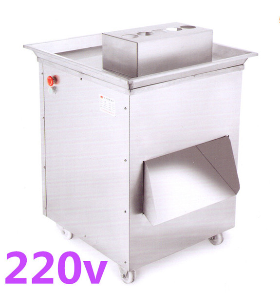 Free shipping 1500w 220v extra-large vertical QD meat cutting machine,meat slicer,meat cutter,1500kg/hr meat processing machine