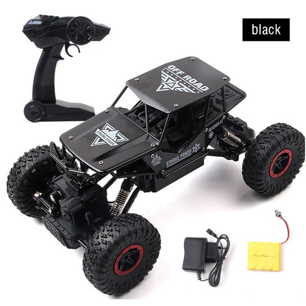Rc Car 1 .3kg 4ch 4wd Rock Crawlers 4x4 Driving Car Double Motors Drive Bigfoot Car Remote Control Model Off -Road Vehicle Toy