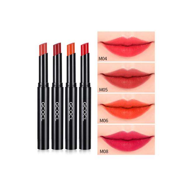 2019 Yeni seksi kalıcı kırmızı ruj, 18 renk su geçirmez mat ipek, çekici kadın dudak parlatıcısı hediye, moda kozmetik 3.8g