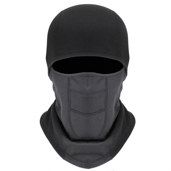 Hiver ski masque vélo extérieur tête de plongée étanche coupe-vent froid porter bouchon sport chapeau respirant chaud chapeau chaud