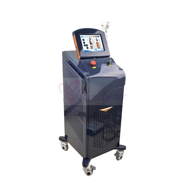 Shipping Free!!!808 nm diode laser for hair removal equipment beauty machine for safety hair removal Permanent 808 diode alexandrite