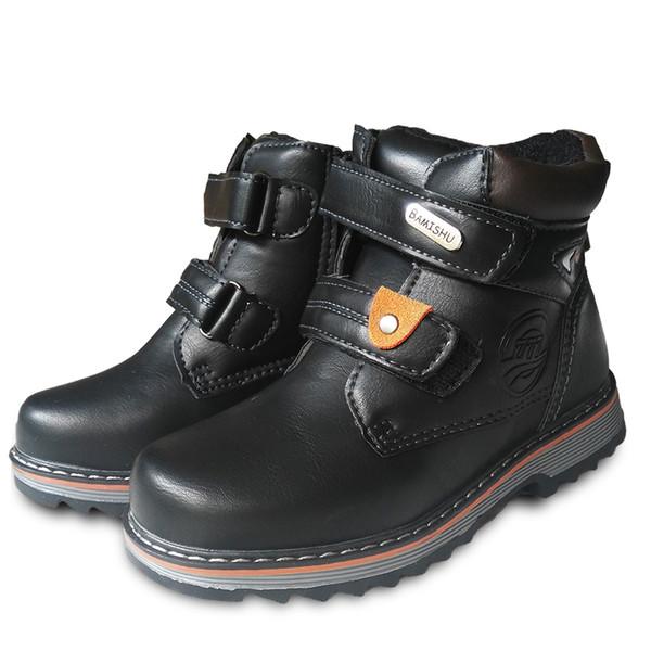 Winter 1pair warm Snow Boots FASHION Children's boot -30 or -20 degree, BRAND Boy Kids Ski boot