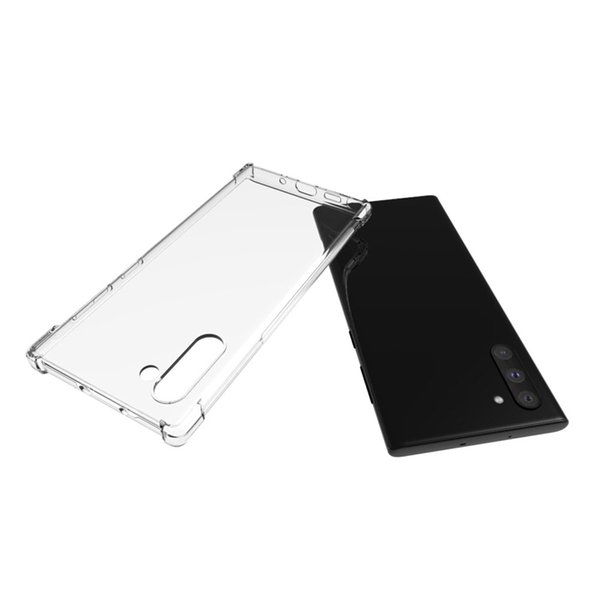 For Samsung Galaxy Note 10 Note10 Pro Anti Shock Soft Gel Mobile Phone TPU Case 2019 Hot