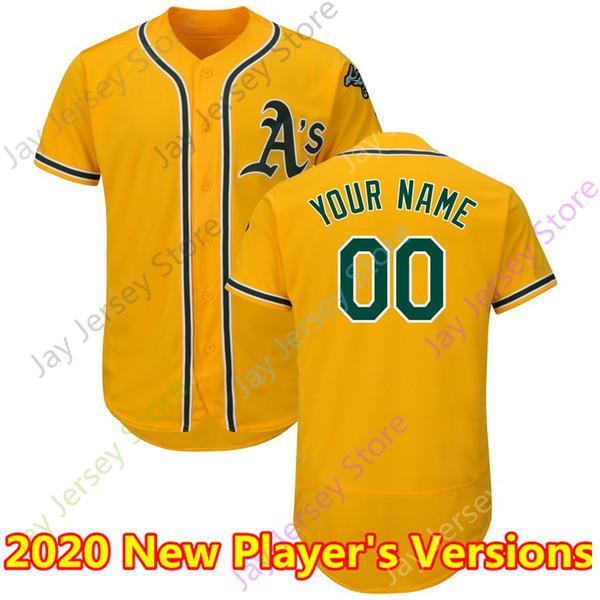 2020 Nuevo jugador # 039; s Versiones amarillo