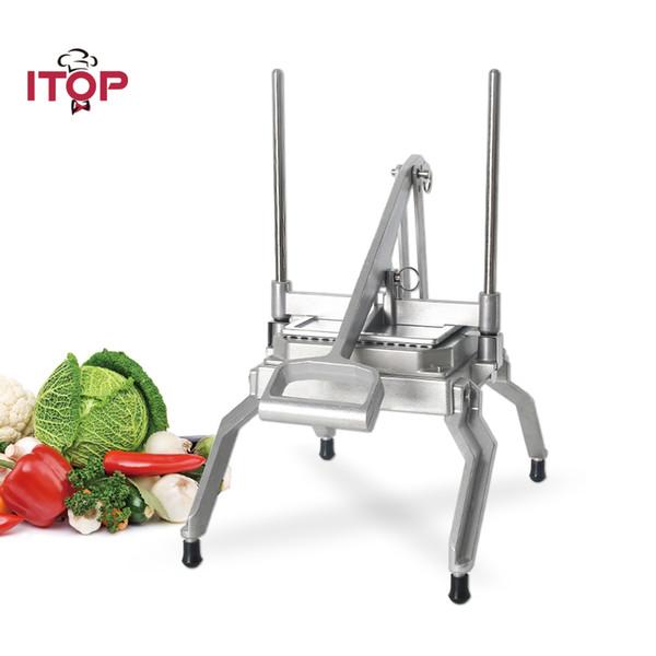 Commercial Manual Vegetable Fruit Cutting Machine Vegetable Fruit Slicer Lemon Potato Chip Slicer Shredder Cutter Kitchen Food Processors