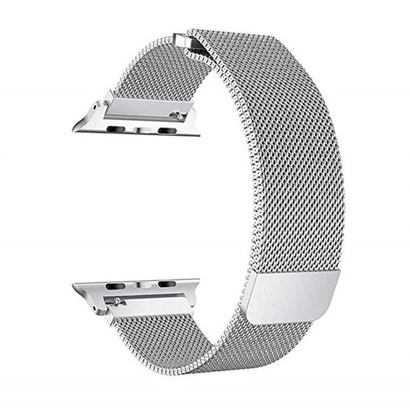 Band Color:Silver&Band Width:38MM and 40