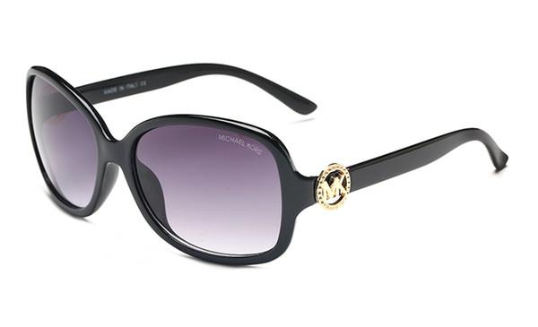 Модные солнцезащитные очки Frence известный бренд логотип женщин большие рамки 8016 солнцезащитные очки высокого качества очки женщина бесплатной доставкой