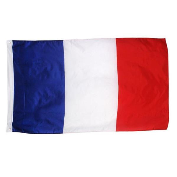 Французский Национальный Флаг Французский Футбол Баннер Триколор Партия Баннер Свадебный Декор