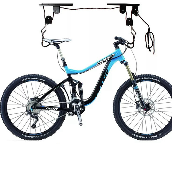 Mountain Bicycle Hanging Roof Rack With A Safety Locking Wall Mount Bike Hanging Rack Accessories LJJZ188