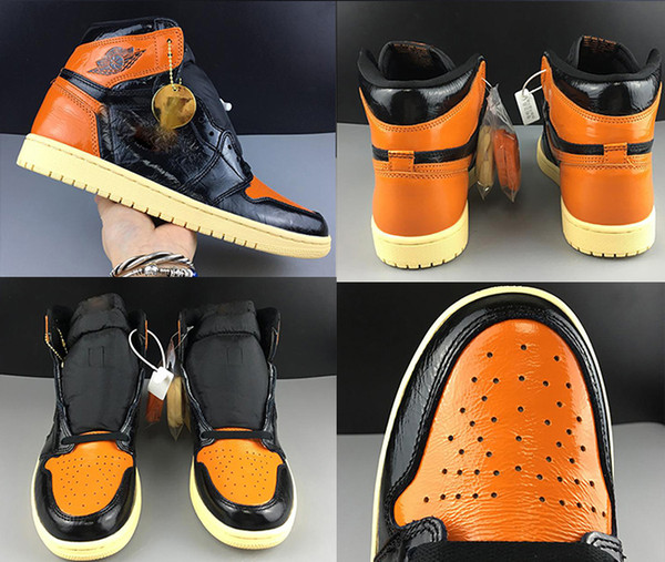 best selling HOT OG Backboard 1 Basketball Shoes Mens Shattered high quality luxury Sneakers women designer shoes unisex Chicago Trainers Sport Shoes