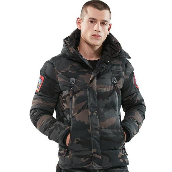 Hot Sale 2018 Parka Men Winter Jackets Cotton Chaquetas Hombre Parkas Mens Casual Outerwear Mens Jackets and Coats Drop Shipping