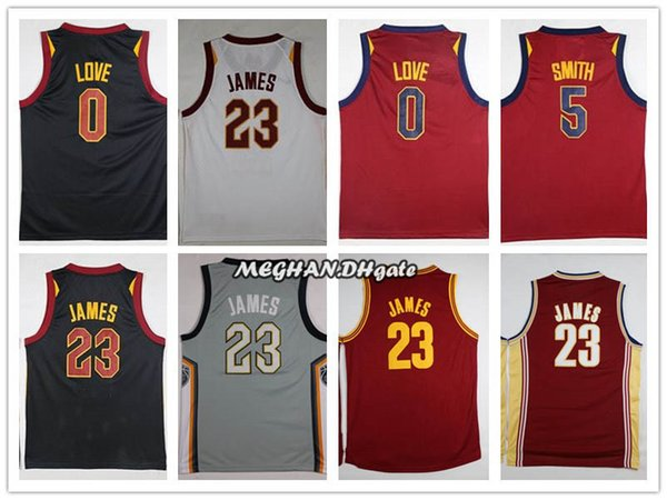 buy online e2217 2f46f 2019 2018 Cleveland 23 LeBron James Jerseys Men The Land City Edition  Basketball 0 Kevin Love 5 Jr Smith CLE Cavaliers Playoffs Jersey From ...